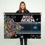โปสเตอร์ ขนาดใหญ่ ร็อคแมน Mega Man