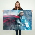 โปสเตอร์ ขนาดใหญ่ Thor the Dark World ธอร์ เทพเจ้าสายฟ้า