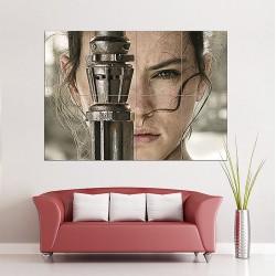 โปสเตอร์ ขนาดใหญ่ Star Wars VII The Force Awakens Rey  (P-1588)