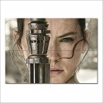 โปสเตอร์ ขนาดใหญ่ Star Wars 7 The Force Awakens Rey