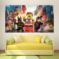 โปสเตอร์ ขนาดใหญ่ The Lego Movie 2014  (P-1589)