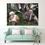 โปสเตอร์ ขนาดใหญ่ Star Wars the Force Awakens