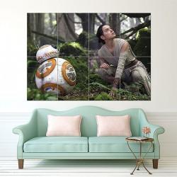 โปสเตอร์ ขนาดใหญ่ Star Wars the Force Awakens BB8 (P-1591)