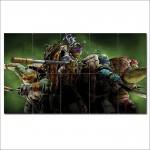 โปสเตอร์ ขนาดใหญ่ ภาพ เต่านินจา Teenage Mutant Ninja Turtles