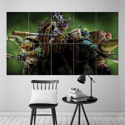 Teenage Mutant Ninja Turtles Block Giant Wall Art Poster (P-1592)