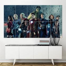โปสเตอร์ ขนาดใหญ่ Avengers Age of Ultron 2015 Movie (P-1594)