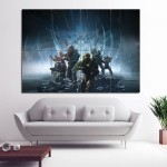 Halo 5 Guardians Game Block Giant Wall Art Poster