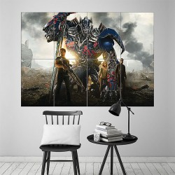 Transformers 4 Age of Extinction Block Giant Wall Art Poster (P-1601)