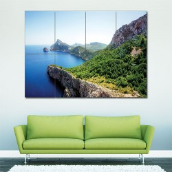 Beautiful Island Block Giant Wall Art Poster (P-1603)