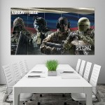 Tom Clancys Rainbow Six Siege Spetsnaz Block Giant Wall Art Poster