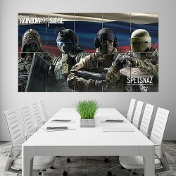 โปสเตอร์ ขนาดใหญ่ Tom Clancys Rainbow Six Siege Spetsnaz Block Giant Wall Art Poster (P-1604)