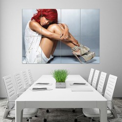 Rihanna Hot Block Giant Wall Art Poster (P-1605)