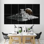 โปสเตอร์ ขนาดใหญ่ Star Wars Destroyer  ยานอวกาศ