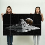 Star Wars Destroyer Block Giant Wall Art Poster