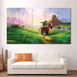 โปสเตอร์ ขนาดใหญ่ The Legend of Zelda Ocarina of Time  (P-1611)