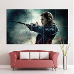 Hermione Harry Potter Block Giant Wall Art Poster