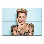Sexy Miley Cyrus Wand-Kunstdruck Riesenposter
