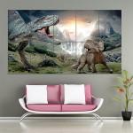 โปสเตอร์ ขนาดใหญ่ Walking with Dinosaurs 3D