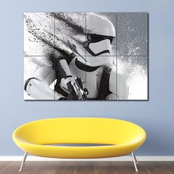 Stormtrooper Star Wars Block Giant Wall Art Poster (P-1621)