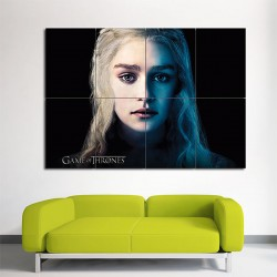 Emilia Clarke Game of Thrones Season 3 Block Giant Wall Art Poster (P-1623)