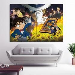 โปสเตอร์ ขนาดใหญ่ ยอดนักสืบจิ๋วโคนัน Detective Conan - Sunflowers Of Inferno  (P-1624)