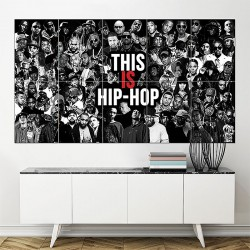 This is Hip Hop Block Giant Wall Art Poster (P-1626)
