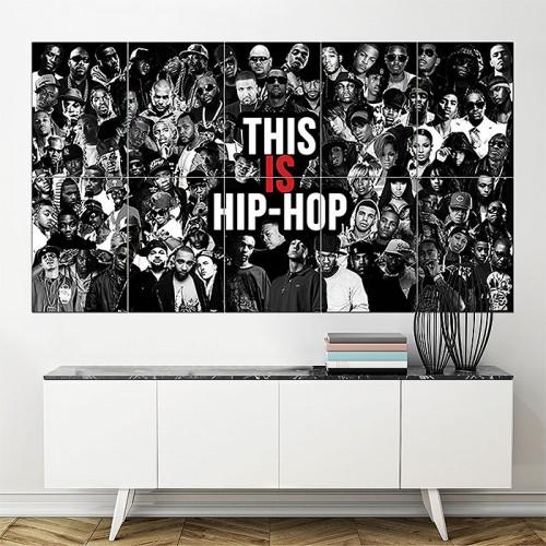 โปสเตอร์ ขนาดใหญ่ This is Hip Hop