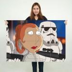 โปสเตอร์ ขนาดใหญ่ Star Wars - Family Guy