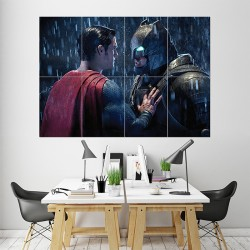 Batman Vs Superman Block Giant Wall Art Poster (P-1633)