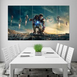 Iron Man Block Giant Wall Art Poster (P-1634)