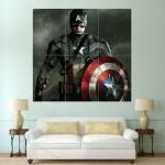 โปสเตอร์ ขนาดใหญ่ ภาพ กัปตันอเมริกา Captain America