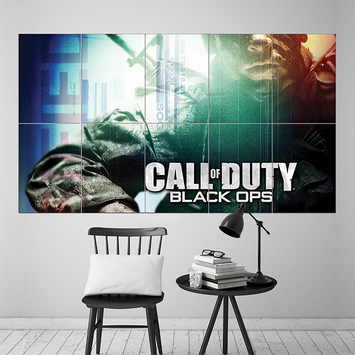 Call Of Duty Black Ops 2 Block Giant Wall Art Poster