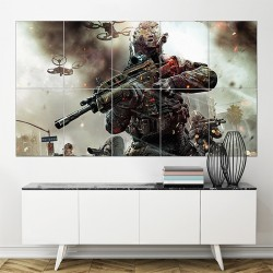 Call of Duty Black ops 2 Game Block Giant Wall Art Poster (P-1640)