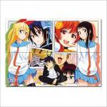 โปสเตอร์ ขนาดใหญ่ การ์ตูน รักลวงป่วนใจ Nisekoi Anime #1