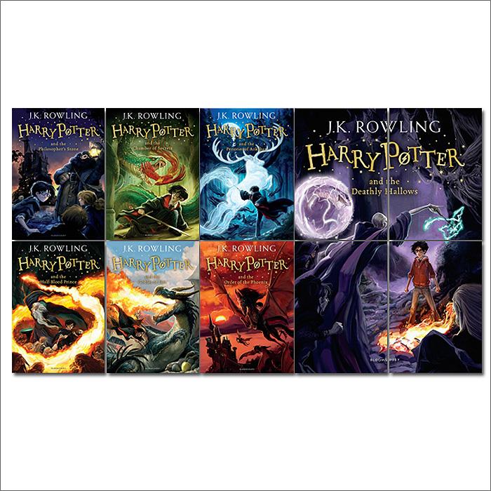 Harry Potter Books Block Giant Wall Art Poster