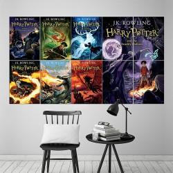 Harry Potter Books Block Giant Wall Art Poster (P-1663)