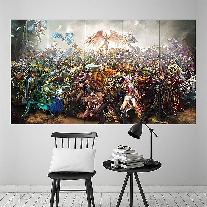 League of Legends Block Giant Wall Art Poster