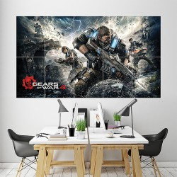 Gears of War 4 Block Giant Wall Art Poster (P-1666)