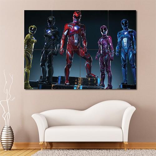 โปสเตอร์ ขนาดใหญ่ Mighty Morphin Power Rangers   พาวเวอร์เรนเจอร์