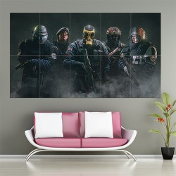 Tom Clancys Rainbow Six Siege Block Giant Wall Art Poster (P-1670)