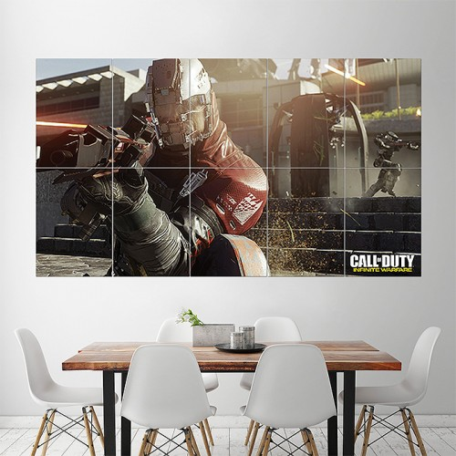 Call of Duty Infinite Warfare xbox Block Giant Wall Art Poster