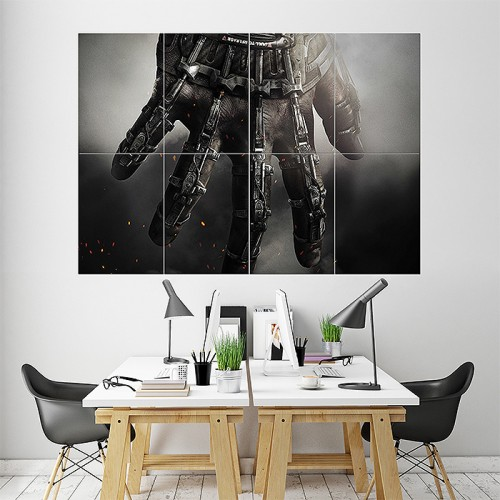 Call of Duty Advanced Warfare 2 Wand-Kunstdruck Riesenposter