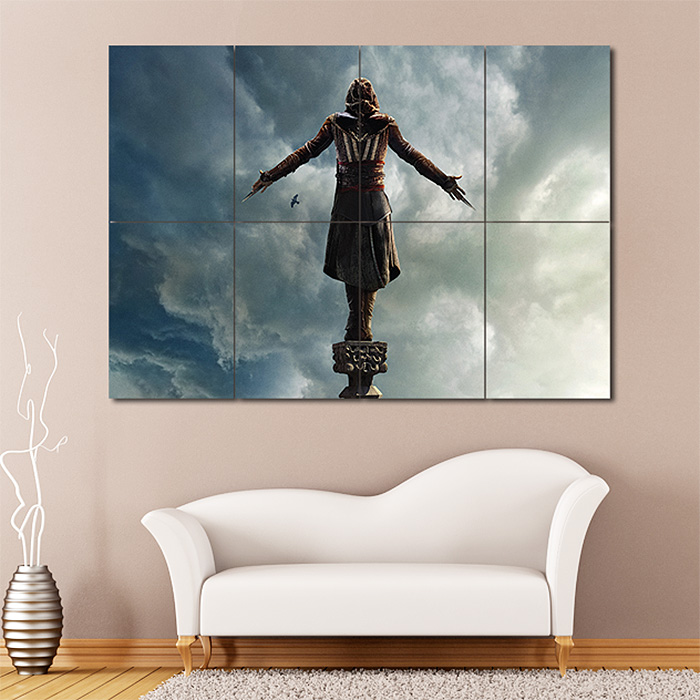Giant Wall Art creed 2016 block giant wall art poster
