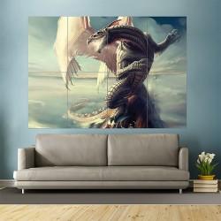 Anime Love Doom Dragon Block Giant Wall Art Poster (P-1692)