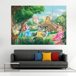Disney Princess Palace Pets Block Giant Wall Art Poster (P-1694)