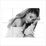Ariana Grande Music Superstar Block Giant Wall Art Poster