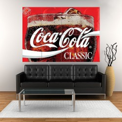 Products Coca Cola Block Giant Wall Art Poster (P-1707)