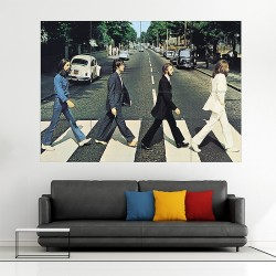 The Beatles Abbey Road Album Cover Block Giant Wall Art Poster (P-1709)
