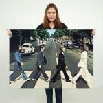 โปสเตอร์ ขนาดใหญ่ The Beatles Abbey Road Album Cover