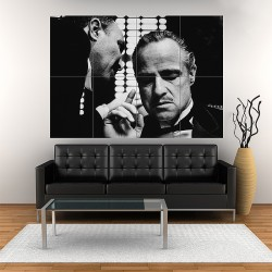 The Godfather Classic Movie Block Giant Wall Art Poster (P-1714)